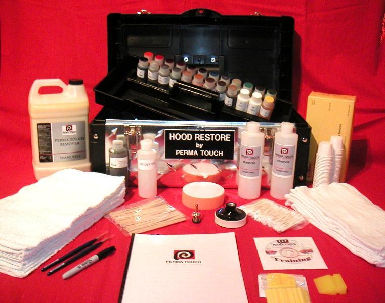 Deluxe Hood Restore Kit